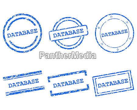 database stamps