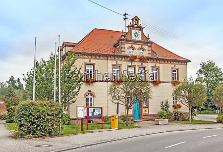 rathaus gemeinde wald landkreis sigmaringen