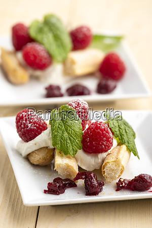 raspberry tiramisu