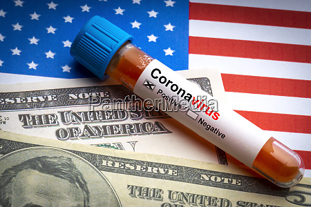 coronavirus covid 19 text us dollar