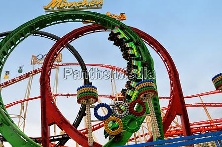 roller coaster in hannover