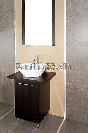 contemporary lavatory