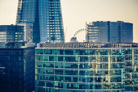 buildings of london city