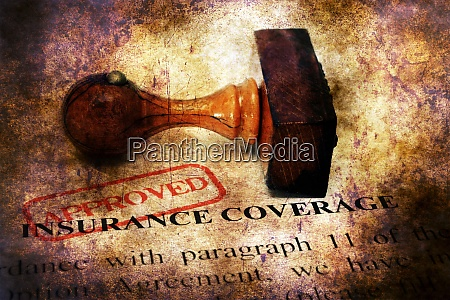 stamp approved on insurance coverage