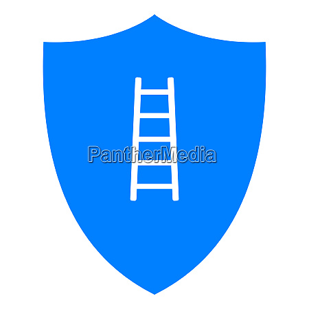 ladder and shield