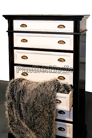 drawers and fur