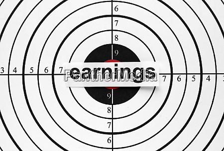 earnings target