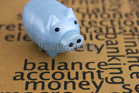 balance account money concept
