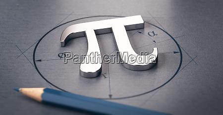 mathematical constant pi letter