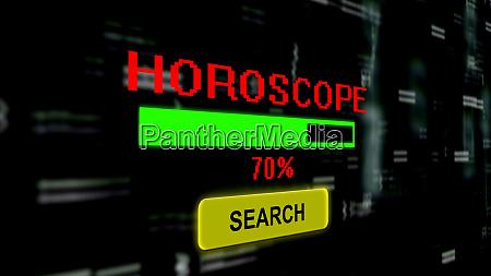 search for horoscope online progress bar