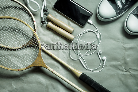 sports equipment for maintaining a healthy