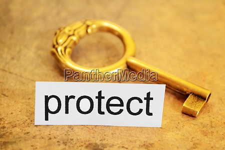 protect and key concept