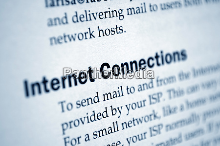 internet connections