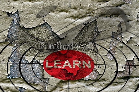 learn target grunge concept