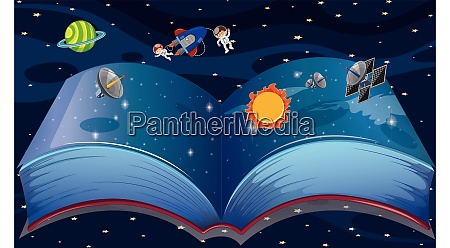 book contains complete space knowledge with