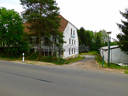 former guest house in the uckermark