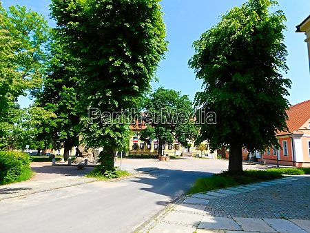 a small town in the brandenburg