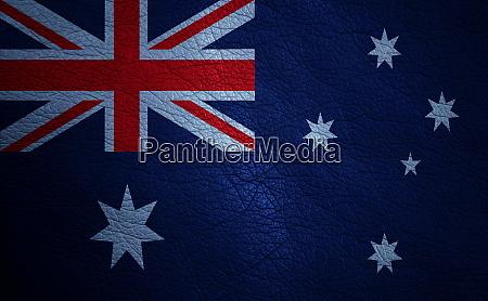 textured flag