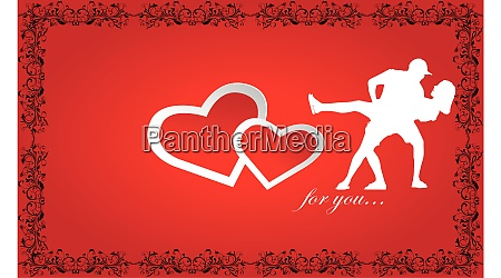 couple dance with lots of love
