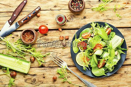 vegan healthy seasonal salad