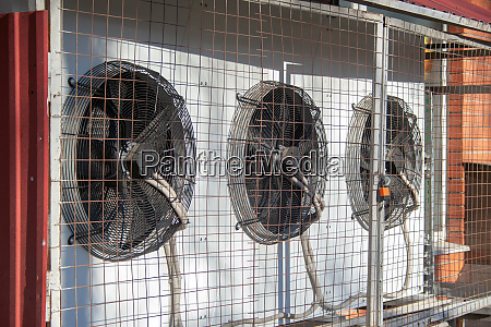 several air conditioners