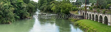 view of gave de pau river