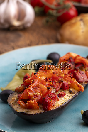 turkish karniyarik a stuffed aubergine