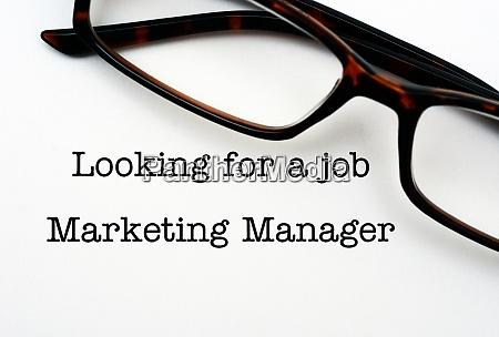 marketing manager