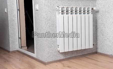 home gas heater closeup
