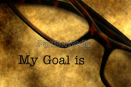 my goal is