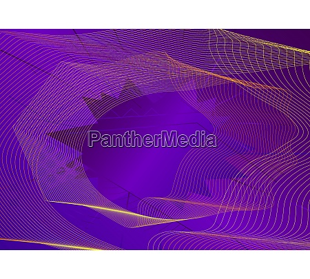 abstract background with dynamic linear waves