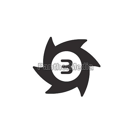 hurricane category three third rate icon