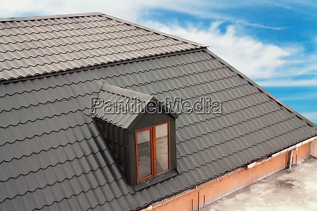 details of the house roof on