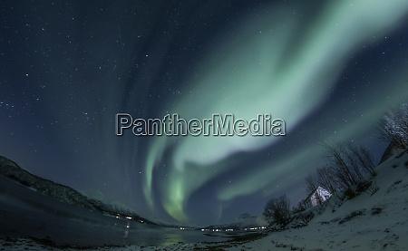 northern lights near tromso