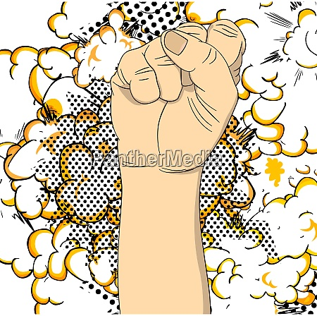 power strength fist fight for your