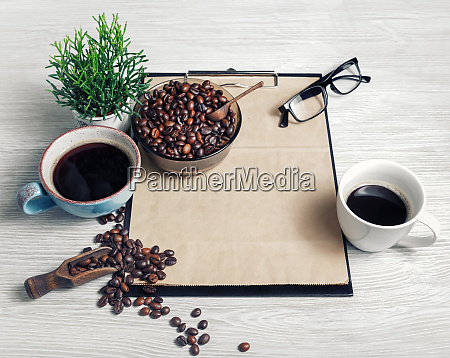still life with coffee