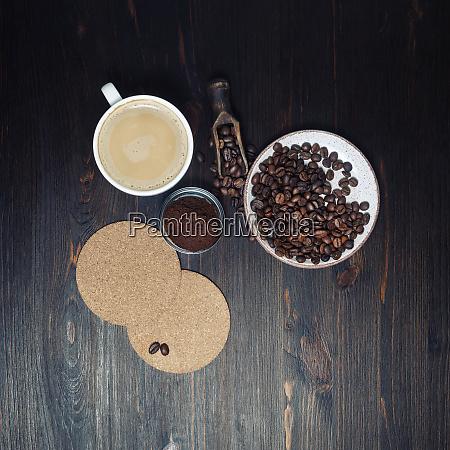fresh delicious coffee