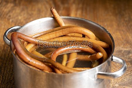 closeup of cochayuyo in a pot