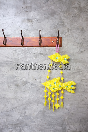 colorful of tropical fish mobile hanging