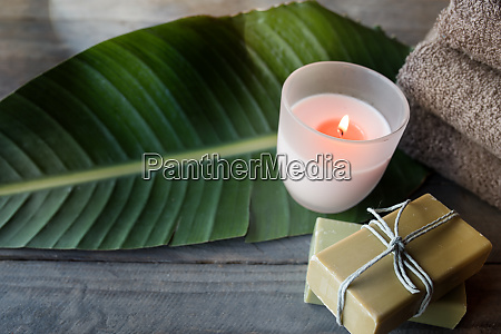 relax with natural aroma soap