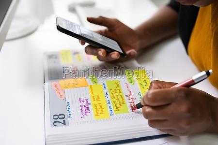 agenda meeting plan schedule