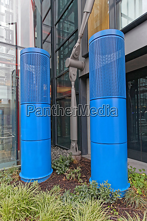 ventilation outlet towers