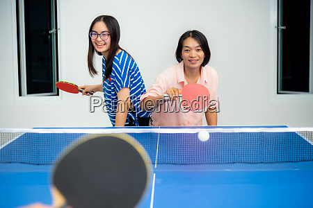 mother and daughter enjoy recreation stay