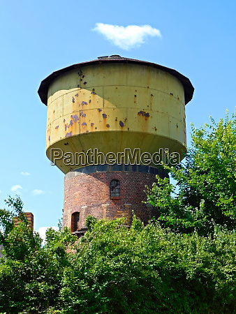 the former water tower of a