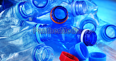 empty carbonated drink bottles plastic waste