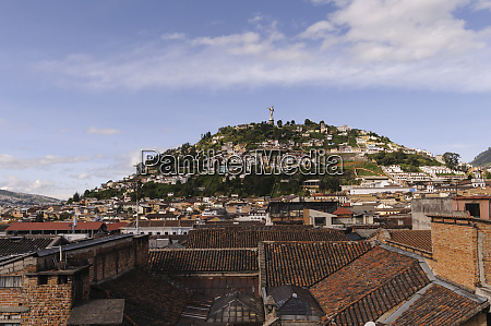 city view of quito