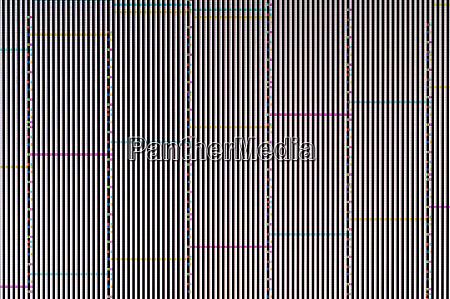 pixel pattern of a digital glitch