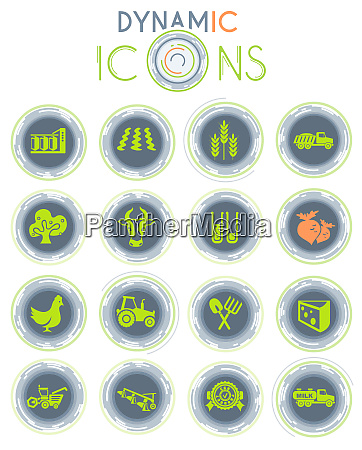 agricultural dynamic icons