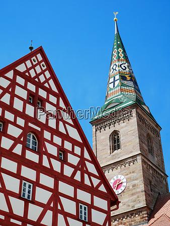 old town hall wolframs eschenbach liebfrauenmuenster