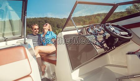 woman and man enjoying some leisure